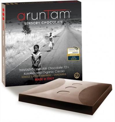 Cioccolato Trinitario Fine Raw al 72 ½ - 60gr. - Aruntam