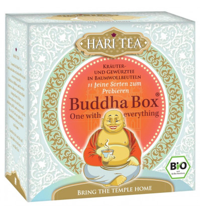 Buddha Box Tisane - cotton bags tea bags - 22g (11 x 2g) - Hari Tea