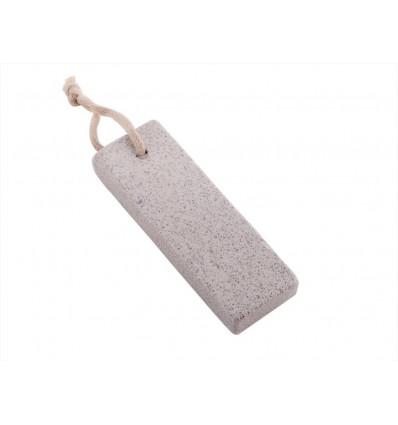 Pietra Pomice naturale grigia con cordino - Carone