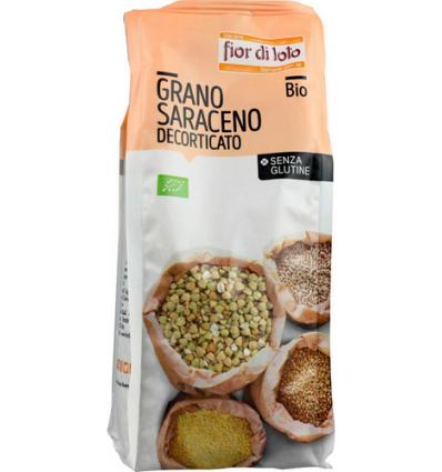 Grano Saraceno decorticato biologico - Senza Glutine - 400g - Il Fior di Loto