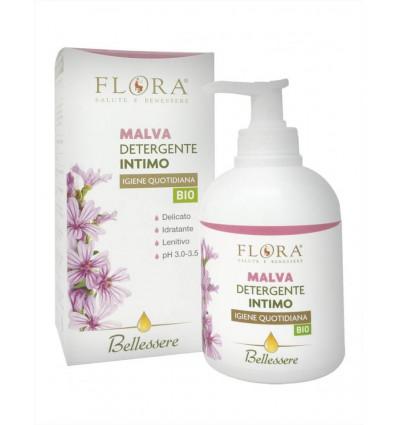 Detergente Intimo Malva - Delicato, lenitivo e rinfrescante - 250ml – Flora
