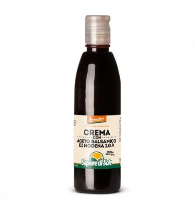 Crema con Aceto Balsamico di Modena Biologico - 150ml - sapore di Sole